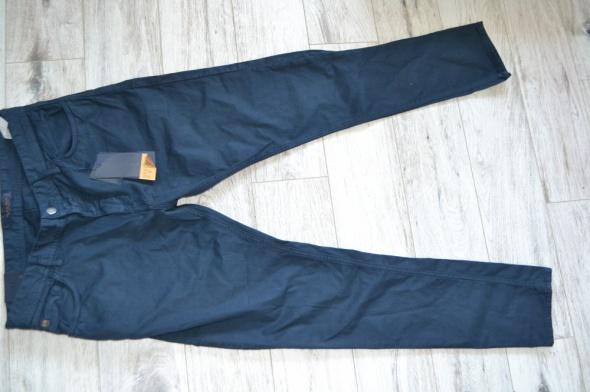 spodnie zara granat