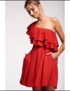 sukienka czerwona hiszpanka Mosquito...