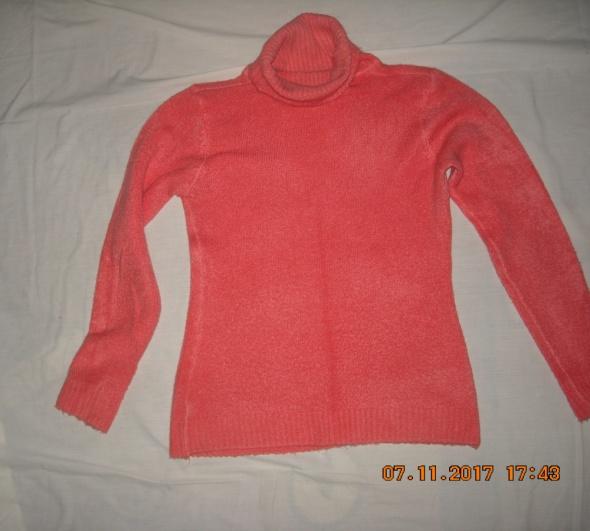 Sweter sweter z golfem golf swetrsweter z długim rękawem 38 40 42