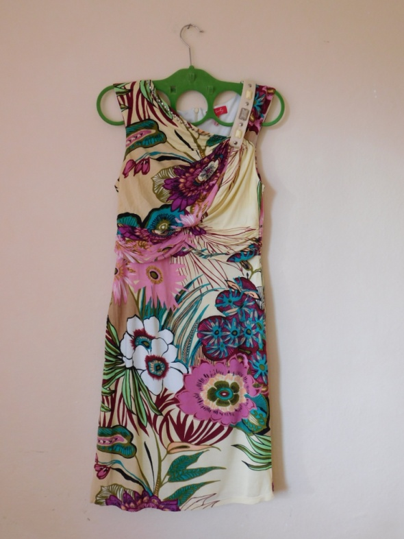 Derhy sukienka floral w kwiaty 36