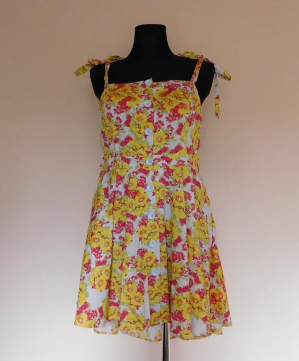 Love Label sukienka letnia w kwiaty 20 XXXL