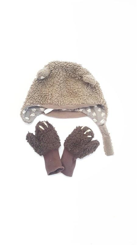 czapka rekawiczki