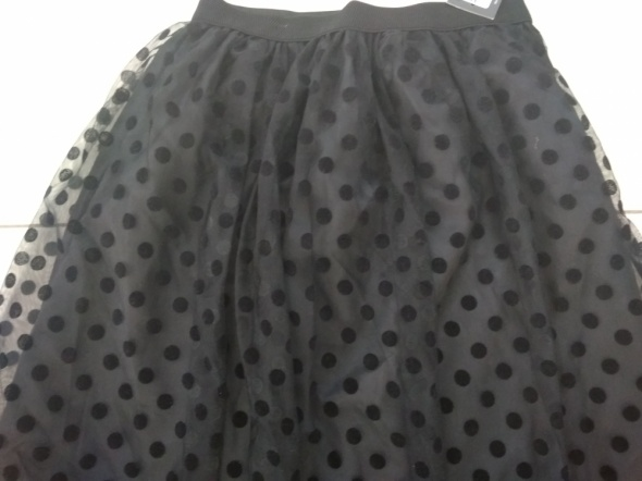 Spódnice Czarna spódnica tiulowa M L