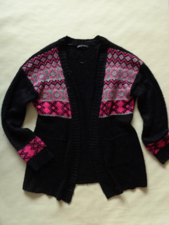ATMOSPHERE czarny sweter narzutka 40 42 44