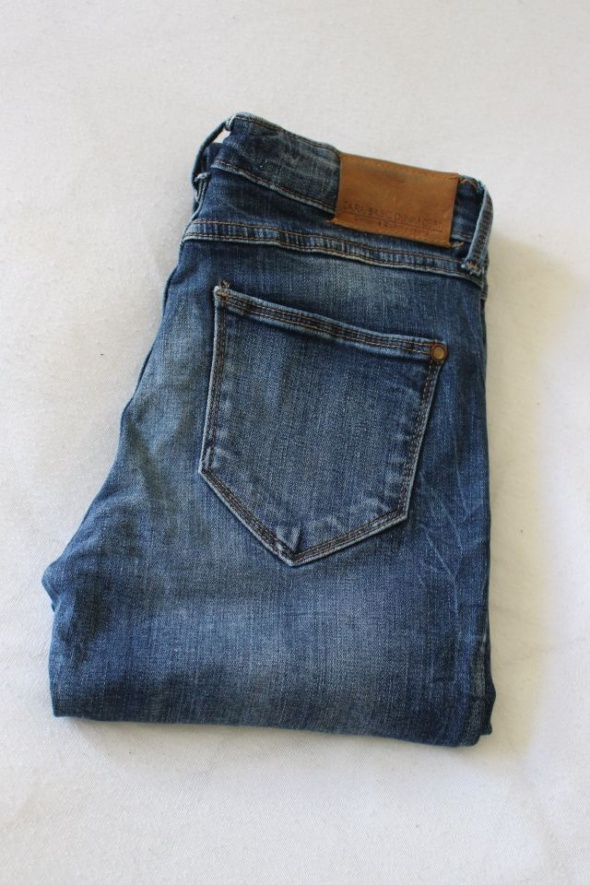 spodnie jeansy zara s