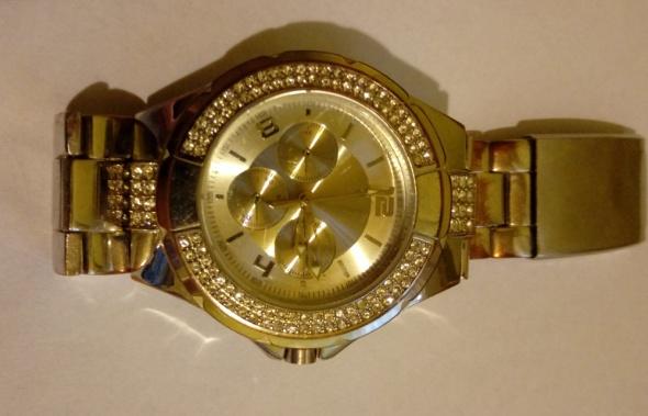 ASOS z cyrkoniami zegarek damski