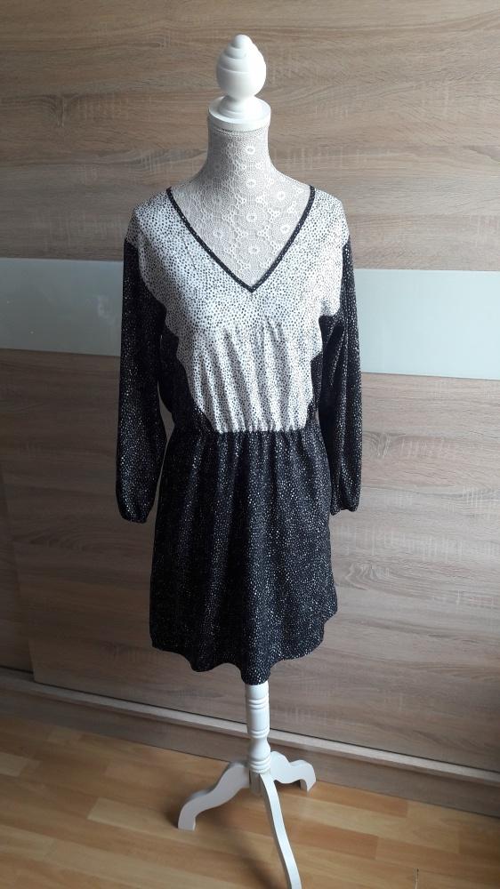 Sukienka H&M 38 groszki...