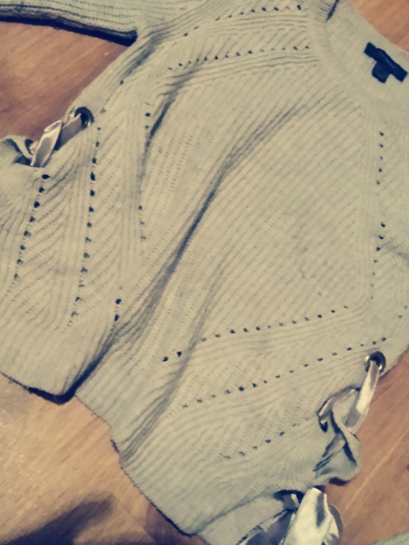 Blogerski sweter...