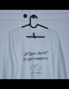 Biała Bluza Colours...