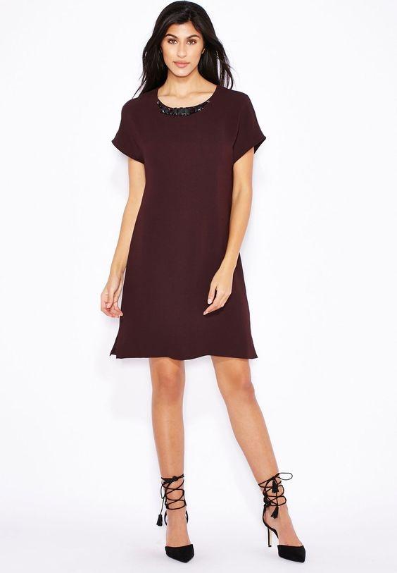 Sukienka Mango S M z naszyjnikiem