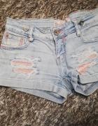 Szorty jeansowe dromedar...