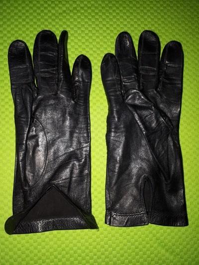 Skórzane rękawiczki rozmia S