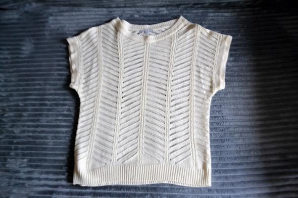 Ażurowa bluzka z krótkim rękawem 38 3Suisses...
