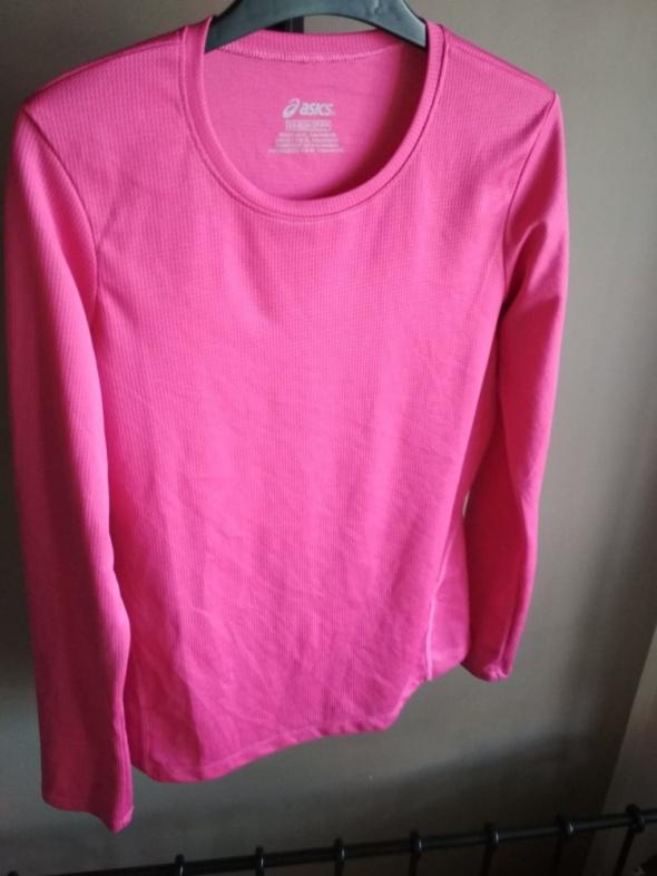Koszulka treningowa asics różowa xs z długim rękawem...