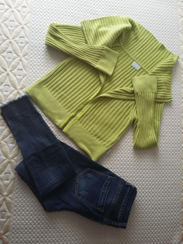 sweterek limonka