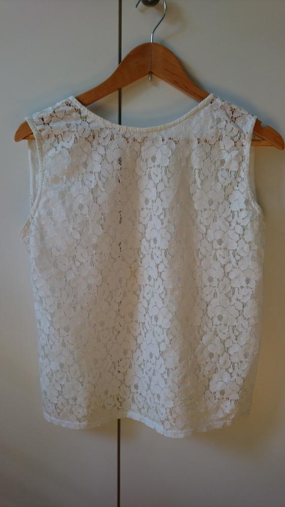 Koronkowa bluzeczka Zara...