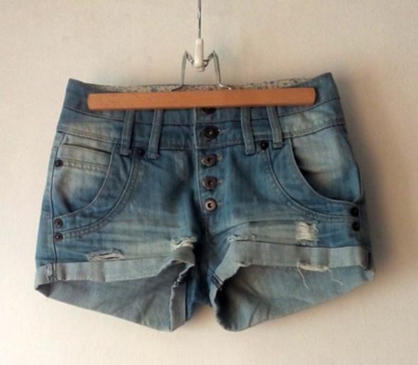 Szorty jeansowe krótkie spodenki jeans 34 xs...