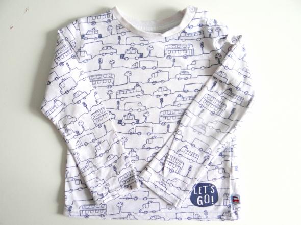 Bluzka na długi rękaw F&F rozmiar 86...