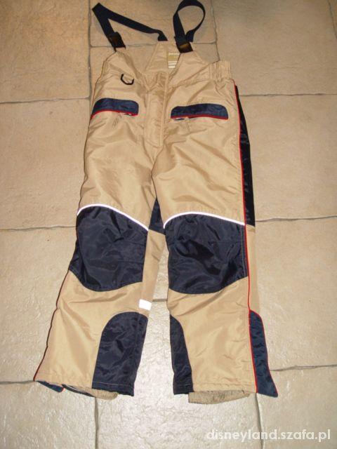 spodnie narciarskie 110 116 122 128 cm