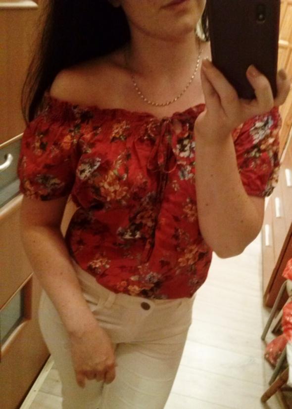 Hiszpanka z motywem kwiatowym wiązana...