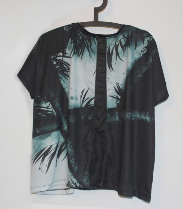 Bluzki Oversize bluzka z krótkim rękawem