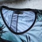 Oversize bluzka z krótkim rękawem
