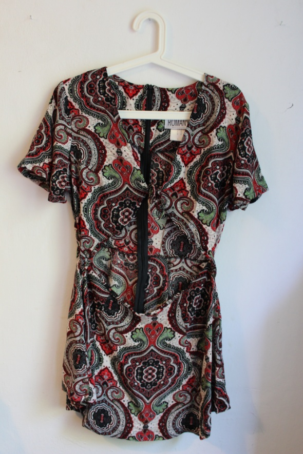 Suknie i sukienki Wielokolorowa sukienka na lato