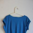 Krótka niebieska bluzka
