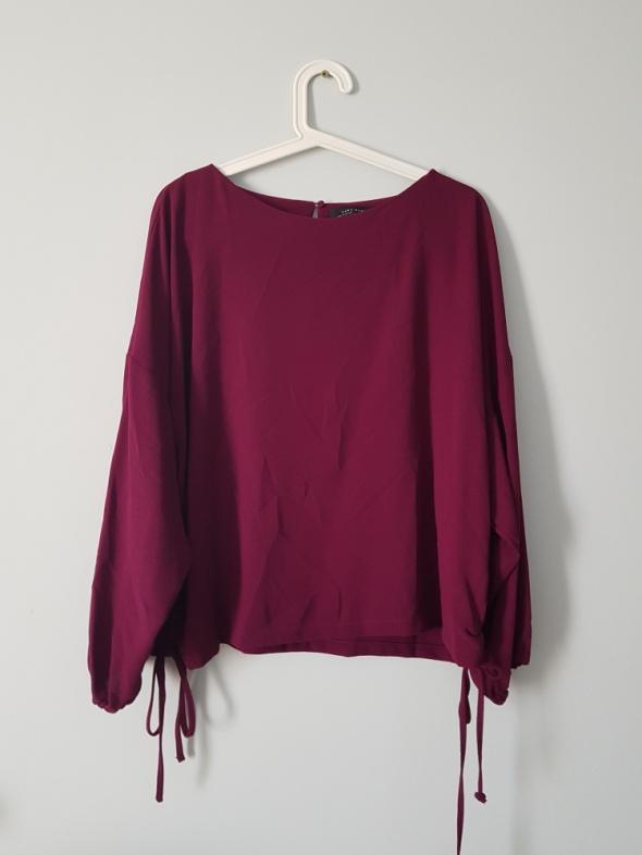 Bluzki bordowa bluzka