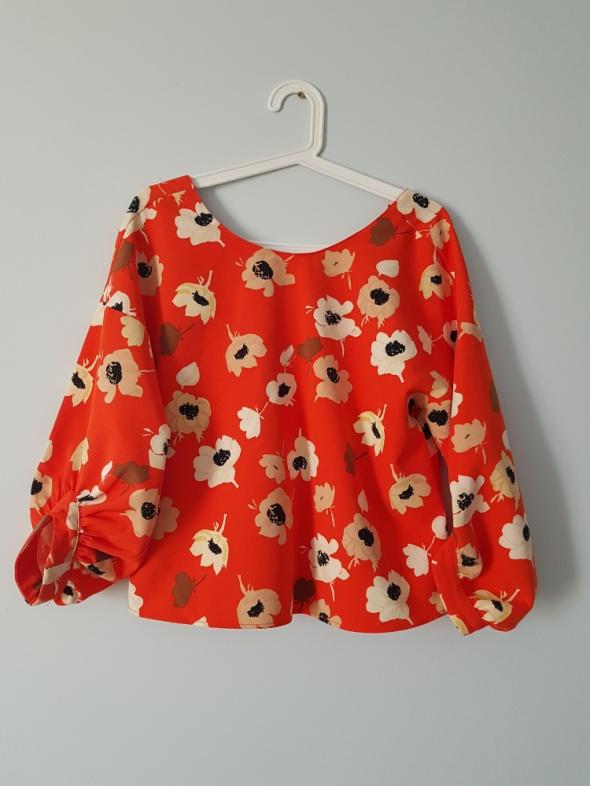 Bluzki bluzka w kwiaty