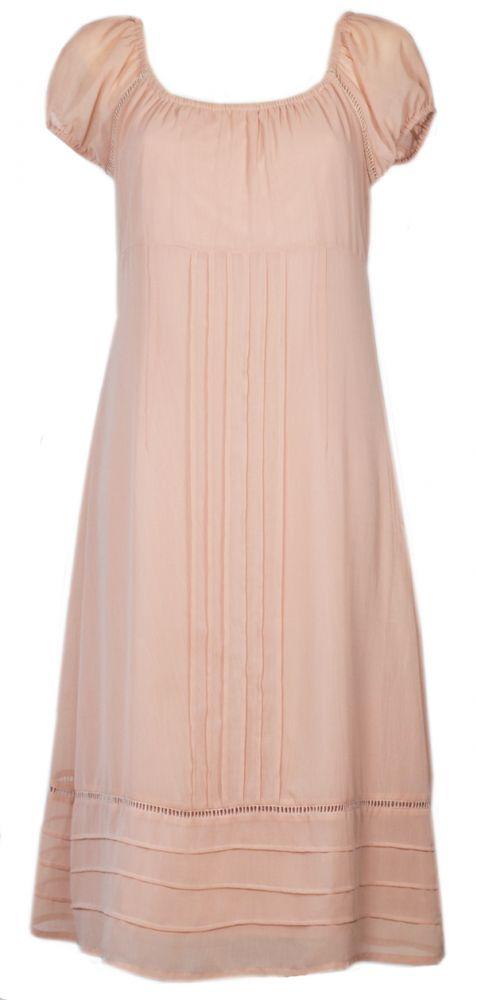 Różowa pudrowa sukienka L 40 HM