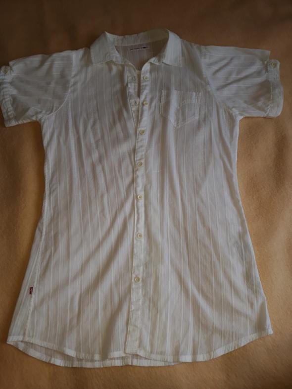 Długa biała koszula Levis...