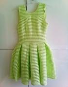 Sukienka zielona seledynowa s wesele...