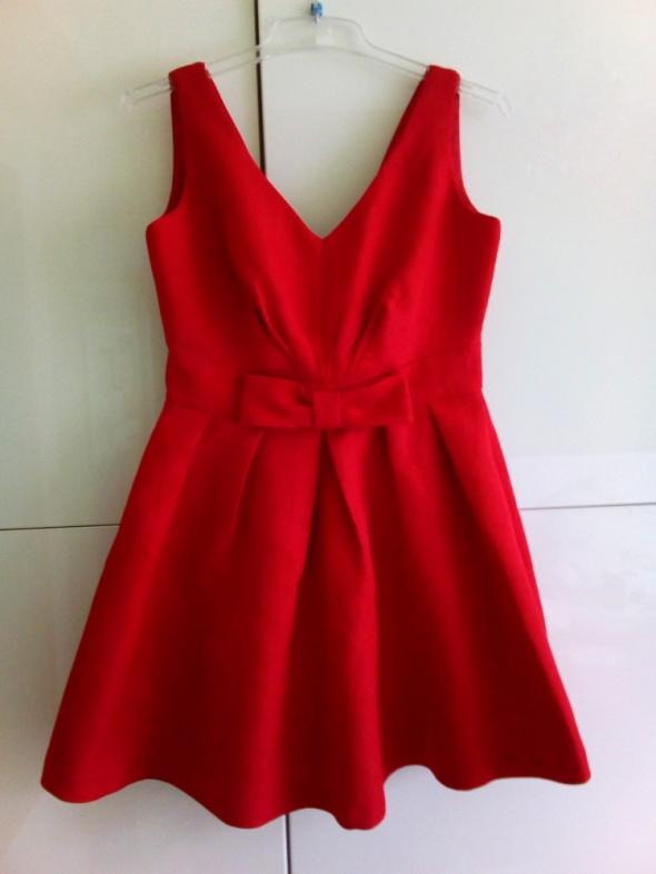 Sukienka czerwona s wesele