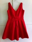 Sukienka czerwona s wesele...