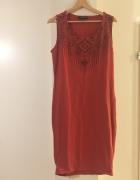 Czerwona sukienka rozmiar 42