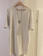 Beżowa sukienka rozmiar 42