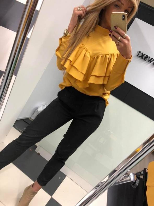 Bluzka żółta musztardowa By Mielczarkowski