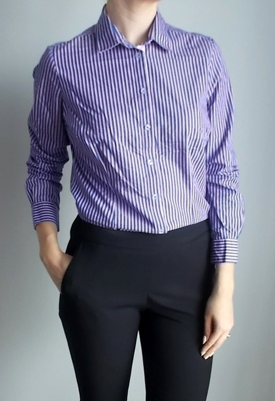 Marks&Spencer elegancka koszula w prążki