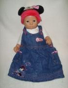 Ladybird jeansowa sukienka roz 3 6 msc...