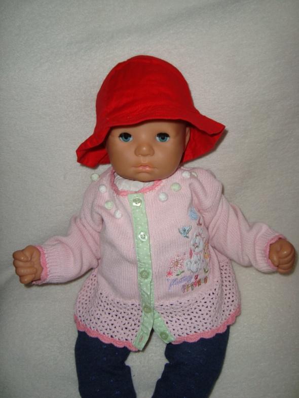 Disney różowy sweterek roz 0 3 msc...