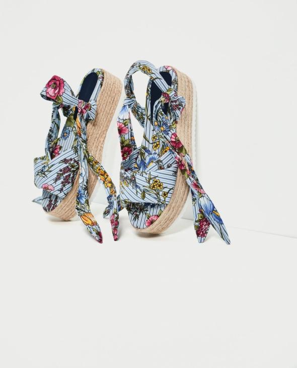 Koturny Nowe sandały na platformie Zara 40