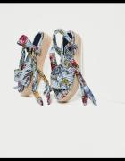Nowe sandały na platformie Zara 40