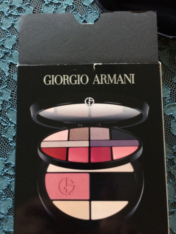 paleta cieni Giorgio Armani...