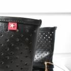 Botki BigStar roz 39 czarne ażurowe Nowe