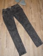 Spodnie damskie marmurki szare rozm 38 M...