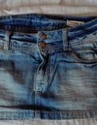 Jeansowa mini spódniczka Terranova M...