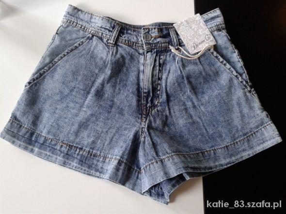 Nowe jeansowe szorty 34 Atmosphere...