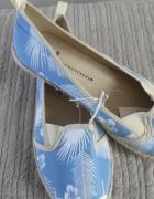 Nowe niebieskie baleriny 36 Atmosphere...