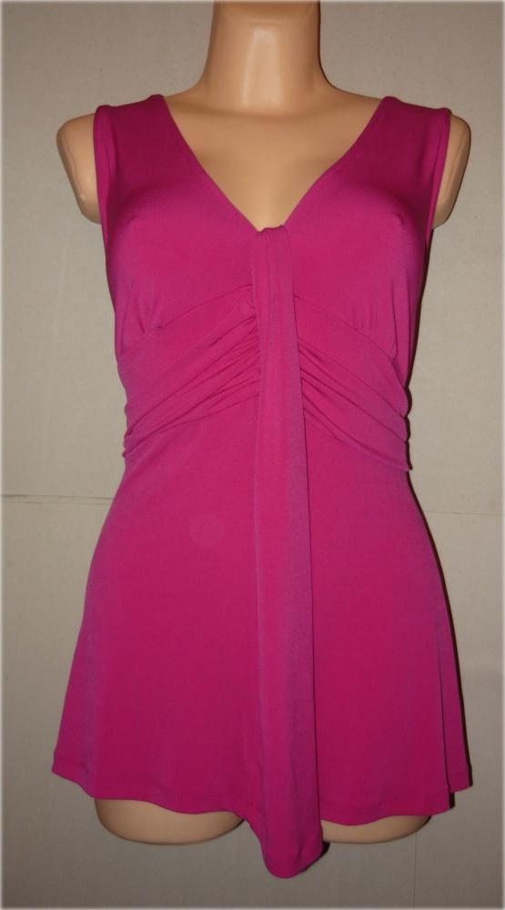 Wallis bluzka tunika różowa idealna 44 46...